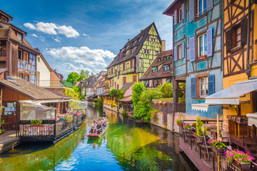 Historic town of Colmar, Alsace region, France Fototapete