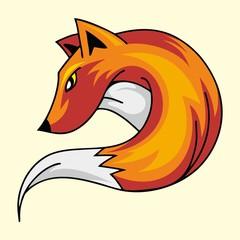CARTOON MASCOT FOX