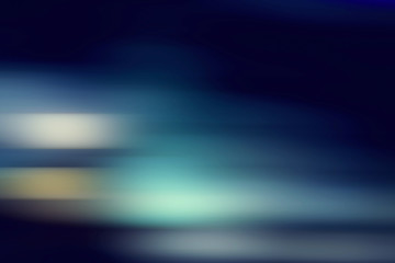 Blue gradient lines blurred in motion