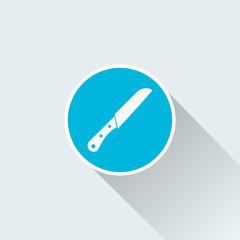 flat knife icon
