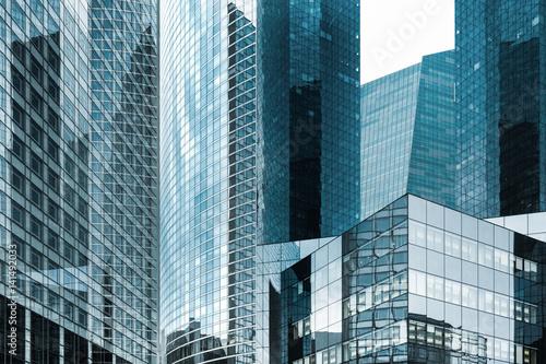 tour immeuble gratte ciel building affaire quartier banque travail ...