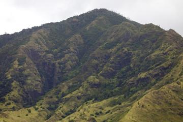 Volcanic mountain range