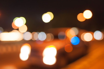 the road with motion blur background