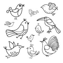 Hand made birds