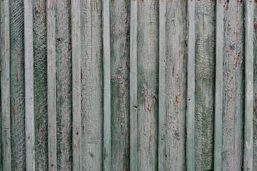 Vintage wood background with peeling paint
