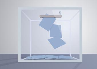 élection - voter - urne - politique - démocratie - scrutin - pouvoir