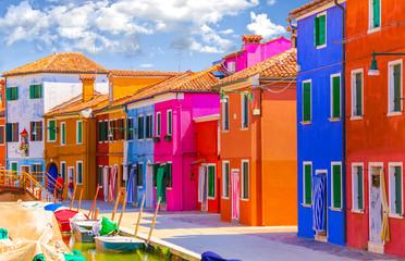 Street of island Burano
