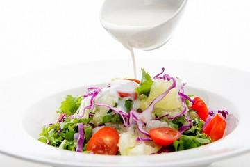A vegetable salad
