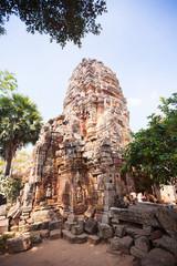 Prasat Banan temple in  Battambang, Cambodia
