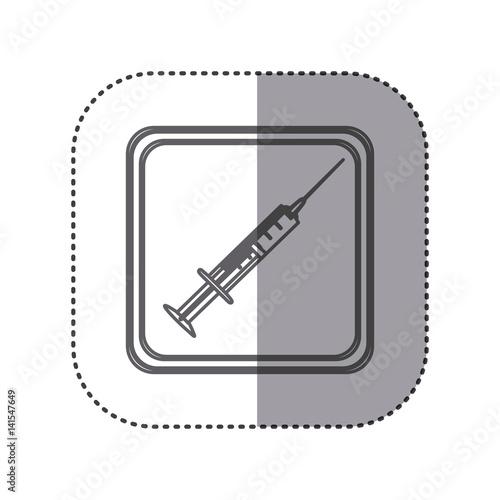 Figure emblem syringe icon vector illustration design fichier ve - Figure libre architecture ...