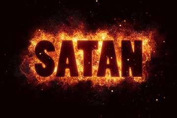 satan Fire Satanic sign gothic style evil esoteric