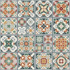 Garden Poster Moroccan Tiles Collection of ceramic tiles