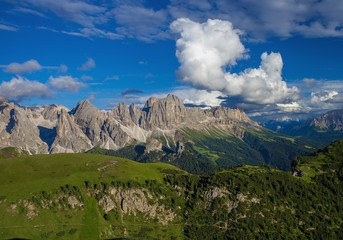 Beautiful landscape in Dolomites, northern Italy
