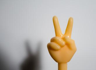 Victory sign emoji