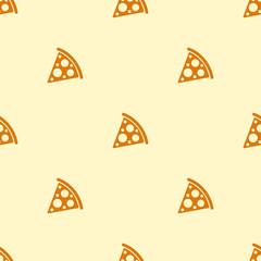 pizza seamless pattern texture bacground