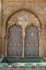 Rabat ornamente mit mosaikfliesen