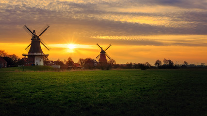 Windmills in Greetsiel