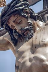 cristo del desamparo de la hermandad del cerro del Aguila, semana santa de Sevilla