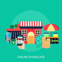 Online Showcase Conceptual Design