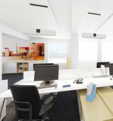 Büroeinrichtung (Detail)