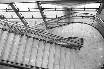 staircase, stair climb