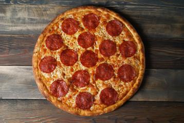 Cadres-photo bureau Pizzeria Classical pepperoni pizza