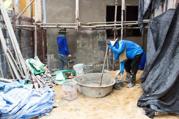 construction home human power
