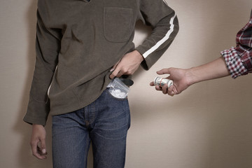 Narcotics : The problem of narcotics trafficking among adolescents.