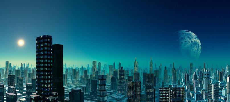 Scifi Citylights