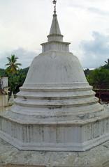 Buddhist monastery, Weherehena, Sri Lanka