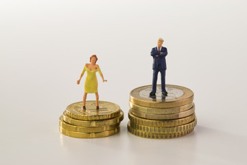 Mann und Frau, Einkommensunterschiede