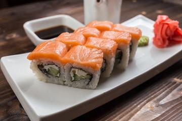 Philadelphia classic. Salmon, Philadelphia