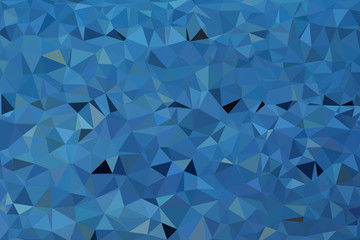 grey and blue polygon pattern for background or web banner design.