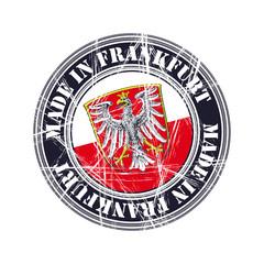 Frankfurth rubber stamp
