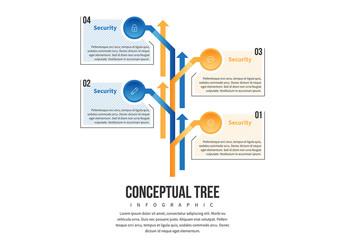 Conceptual Tree Infographic