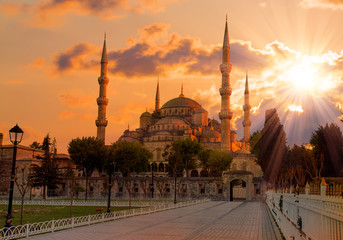 The Blue Mosque , istanbul