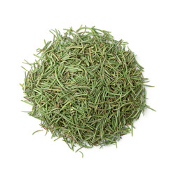 Top view of dried rosemary