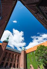 Stockholm city hall in Sweden