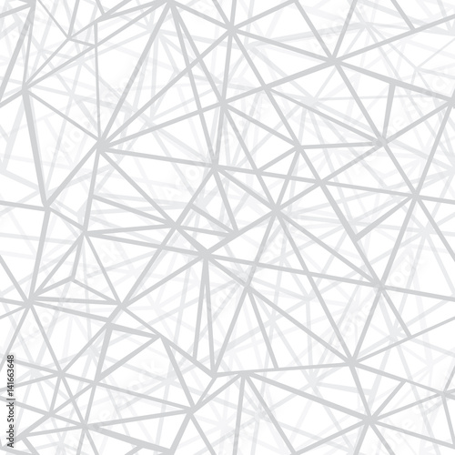 Vector Silver Grey Wire Geometric Mosaic Triangles Repeat Seamless ...