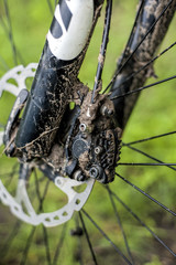 Dirty bicycle