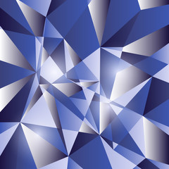 Geometric triangular abstract background