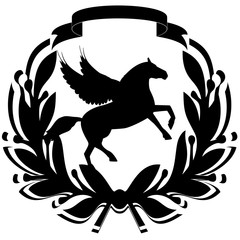 Icon with a horse-3