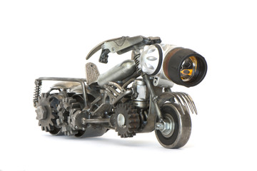 железный мотоцикл