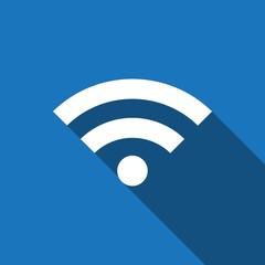 wifi icon stock vector illustration flat design