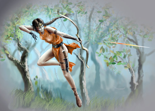 Greek goddess of the hunt