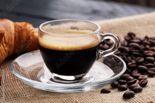 "Xstg 10: ""Coffee And Croissants, Cafe, Coffee Bean"" Fotos De"