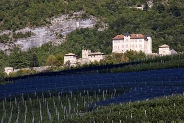 Castel Thun castle,  Val di Non, Trentino, Italy