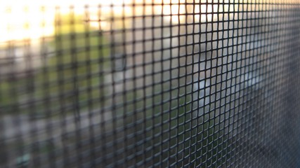 Mosquito Grid screen texture on the window