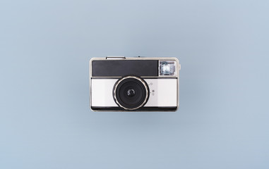 isolated retro eighties camera