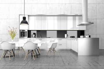 Küche, Essen, Esszimmer, Interior, Design